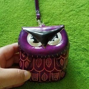Handbags - Owl Wristlet/Wallet